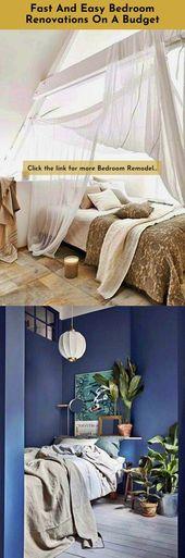 Deko-Hacks für das Hauptschlafzimmer Das Einbeziehen trendiger Elemente beim Entwerfen kann …   – Bedroom Designs