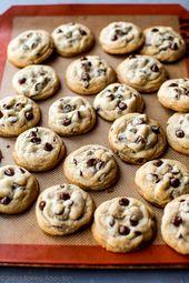 Soft-Batch-Schokoladenkekse mit ein paar Tricks, um sie zu …
