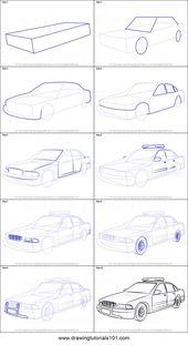 Schritt für Schritt zeichnen – 75 Bildideen #Zeichnen #Ideen #Bild,   – step by step diy