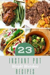23 Instant Pot Weight Watchers Recipes
