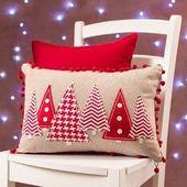 20 Idees Coussins de Noël