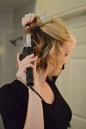 how to create curls that last on a long bob – step by step tutorial #bobhairstyles