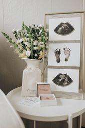 Baby Cards Baby Meilenstein Karten - Immergrüne Sammlung