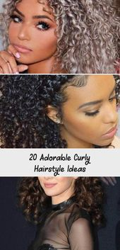 20 Adorable Curly Hairstyle Ideas