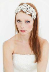 Wedding Headband,Bridal Headband,Crystal Headband,Wedding Headpiece,Silver Headband,Silver Headpiece,Statement Headband,Bridal Crown-Karise