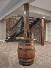 27 Perfectly Captivating Basement Design Ideas  – Home Bar