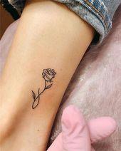 38 Fantastische Frauen Kleine Tattoo-Design-Ideen