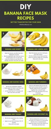 8 Banana Face Mask Recipes – Better Than Botox for Your Skin