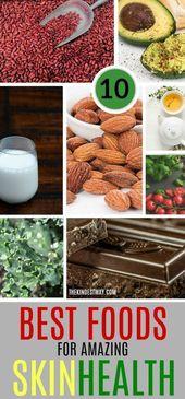 10 besten pflanzlichen Lebensmitteln für die Gesundheit der Haut