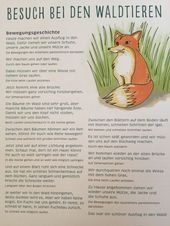 "Bewegungsgeschichte ""Wir gehen in den Wald"" – …"