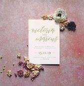 Floral flatlay mockup, stock photography, digital mockup for wedding stationery, styled fine art moc