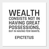 Stoic Quotes – Wealth consists not in having great…