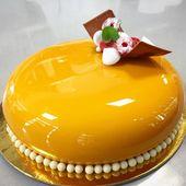 Spiegelglasurkuchen: Rezept für gebratenen Kuchen mit glasiertem Glas …   – sweet stuff