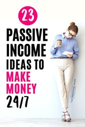 23 Passive Income Ideas and Tips To Make Money 24/7 (The Complete Guide) – Frozen Pennies | Sara Conklin (Coaching, Budgeting & Frugal Living)