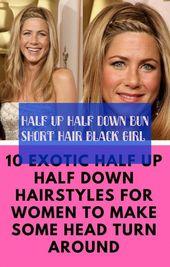 short hair half girl half down bun short hair black girl #half #half #down #short #hair
