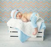Free shipping, new Latest knitting Newborn Photography Props,baby boys Beanies caps, Baby Hat & Pants 2pcs Set size:0-1m...