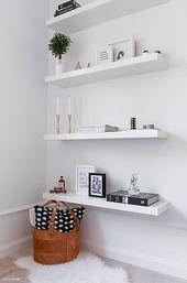 55 Modern Ikea Floating Bookshelves Design