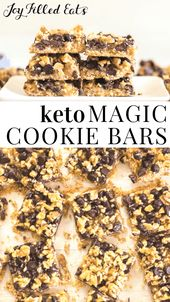 Magic Cookie Bars – Low Carb, Keto, Glutenfrei, Getreidefrei, THM S – Wenn Sie si …