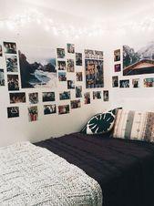 25+ Die stilvollsten Tumblr-Schlafzimmer für Teenager, die ihre Ideen dekorieren