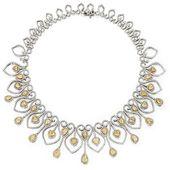 18 Karat Two-Color Gold, Diamond and Yellow Diamon…