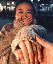 18K White Gold Ballad Diamond Ring (1/8 ct. tw.) – wedding things
