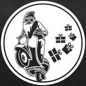 WEIHNACHTSMANN AUF MOTORRAD, MOTORRADBILD, HEMD   Frauen Bio-Sweatshirt von St …   – Motorrad Frauen Lustig