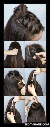 Frisuren für die Schule 22 Schnelle und einfache Frisuren-Tutorials für den Schulanfang