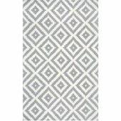 Handgefertigter Teppich Obadiah aus Wolle in Grau / ElfenbeinWayfair.de   – Products