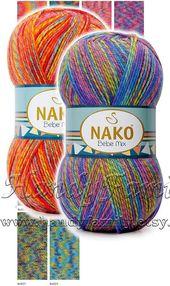Himalaya EVERYDAY BEBE Lux baby yarn anti-pilling acrylic yarn knitting crochet hypoallergenic newborn preemie hat Color choice DSH