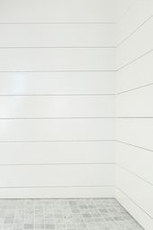 How to Install Shiplap In A Shower (and be the coolest people on the planet)