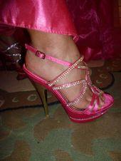 chaussures de marie rose fushia doccasion - Chaussure Fushia Mariage