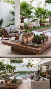 Amazing Interior Gestaltung 10 tolle Patio Table Decor Ideen zu Gunsten von Ihr Zuhause #patiodeck – Balcony Gestaltung