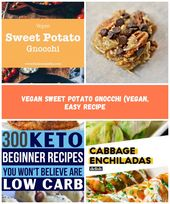 Ñoquis de batata vegana (vegana, receta fácil) recetas de dieta Batata vegana …   – best-diet-plan
