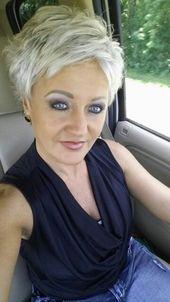 Kurzes Haar – Cool Style Kurzes Haar #Short # Hair Colors2019 Dieses Bild ha …   – uncategorized