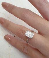 Tradesy | White Gold Diamond 2.70 Carats Engagement Ring
