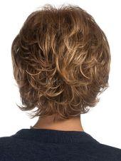 wie Echthaar Mode Sexy Natürliche Damen Kurz Glatt Braun Perücken wig Parrucca#Sexy#Nat#rliche