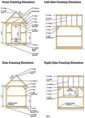 Wood Shed Plans Wood Shed Plans Shed Plans Lean To Shed Plans Shed Building Plans D Abris Abri De Jardin Plans De Construction