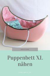 E-Book: Puppenbett nähen für Baby Born