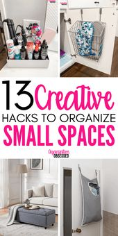 13 Brilliant Ideas For Organizing Small Spaces