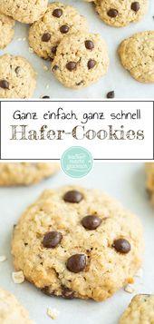 Haferflocken Kekse   – Einfach Lecker!