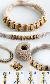 56 superb diy bracelets for updating your fashion accessories without you – diy-jewelryimages – yeni dizi