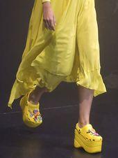 4954b60ae4f Balenciaga Brings Us Closer to Heaven With a Pair of Platform Crocs |  fashion + functional | Platform crocs, Crocs sandals, Crocs