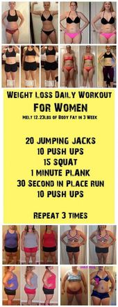 weight loss daily workout for women how to lose belly fat