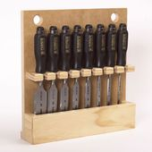 Chisel Storage Rack Woodworking Plan, Shop Project…