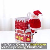 Chimney Climbing Santa Claus