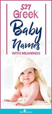 527 Greek Baby Names With Meanings : Check out our catalog of Greek baby names t…,  #baby #… – BABY NAMES