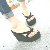 Laamei Platform Sandals Ladies Excessive Heel Zapatillas Summer time Footwear Style Straped …