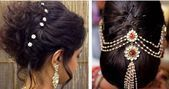 Easy Hair Fashion For Brief Hair In Saree #coiffure #differenthairstylesforsa – Marriage ceremony Hairstyles …