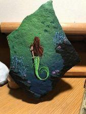 New Painting Rocks Ideas Mermaid 25 Ideas