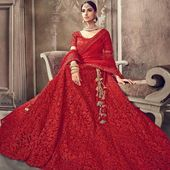 BOLLYWOOD BRIDE -Designer Lehnga in stunning colours| Indian wedding Lehnga | Indian dress for women | Lehnga Choli | Skirt Blouse Dupatta